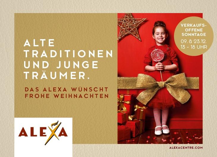 Weihnachtsprogramm ALEXA