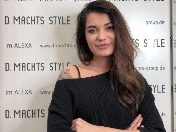 Tipps für schnelle und einfache Frisuren von unserem Friseur Berlin D. Machts Style und Store Managerin Virginia Ehrlich aus dem ALEXA Berlin
