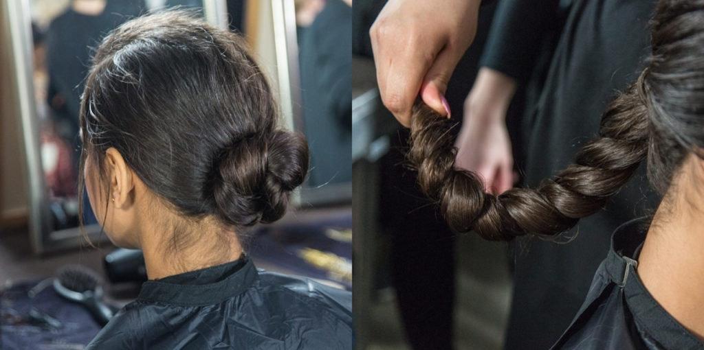 D. Machts Style, unser Friseur Berlin, präsentiert schnelle Alltagsfrisuren für das ALEXA Berlin.