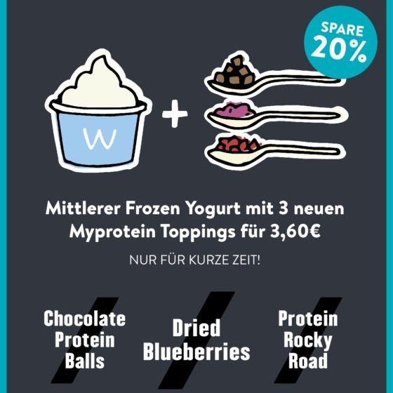 Aufsteller MyProtein A4 2