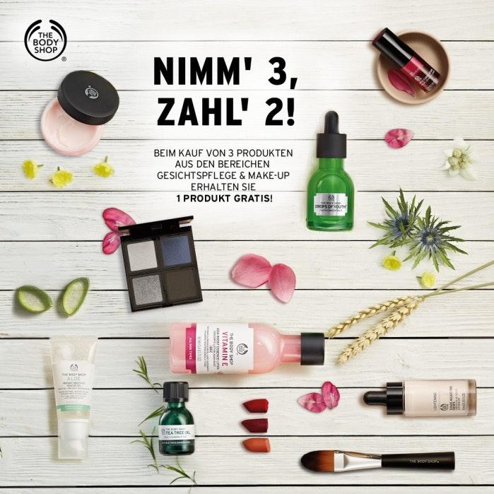 The Body Shop_3 für 2 Skincare und Makeup