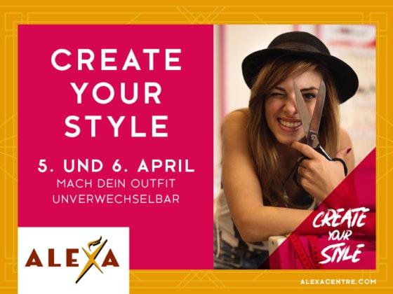 DIY-Event: Create Your Style im ALEXA