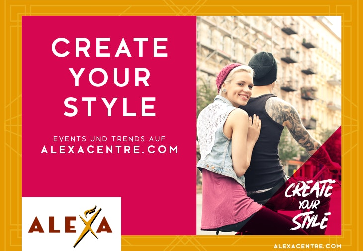 Create your Style by ALEXA: Events & Aktionen