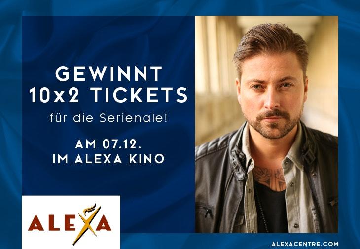 Gewinnspiel Serienale // ALEXA Berlin
