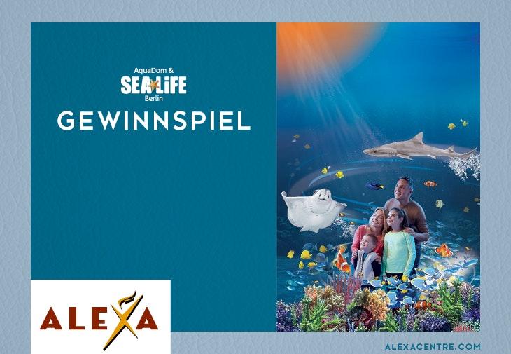 SEALIFE Gewinnspiel // ALEXA Berlin