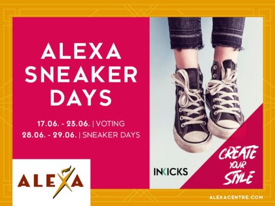 Die großen SNeaker Days im ALEXA Berlin #CreateYourStyle