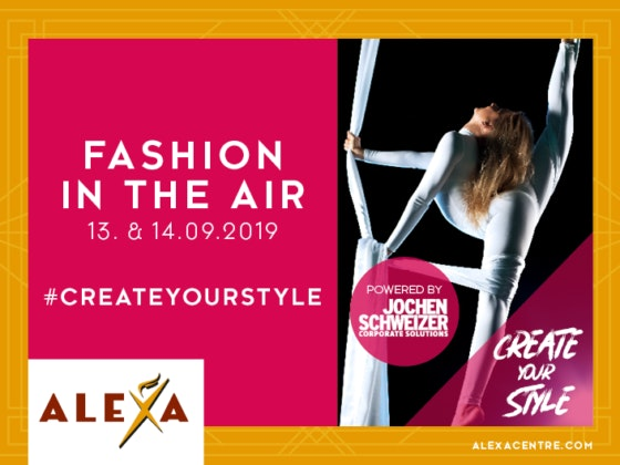 Fashion Show im ALEXA