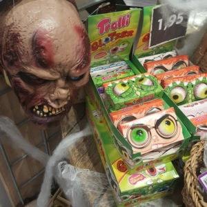 Halloween Maske und Augen bei Nanu Nana