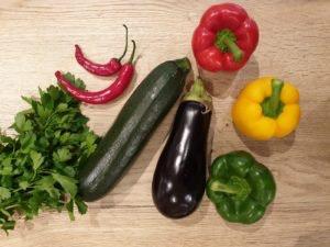 Gemüse von Edeka im ALEXA Berlin // Grillrezepte