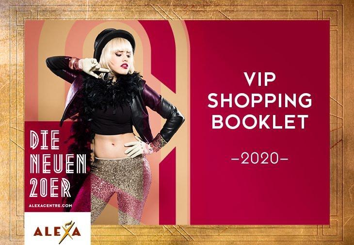 Spare mit dem ALEXA Berlin Gutscheinbuch, dem VIP Shopping Booklet, mit Rabatten in zahlreichen Stores