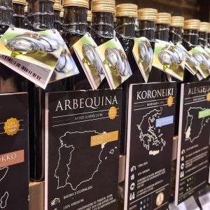 Öl für Kürbisrezepte im ALEXA Berlin