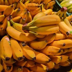 Bananen von Edeka im ALEXA Berlin