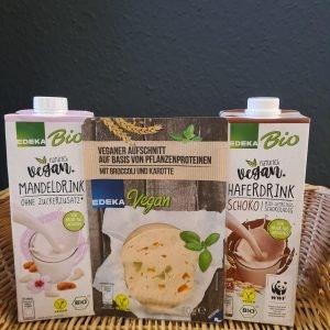 Vegane Produkte von Edeka im ALEXA Berlin