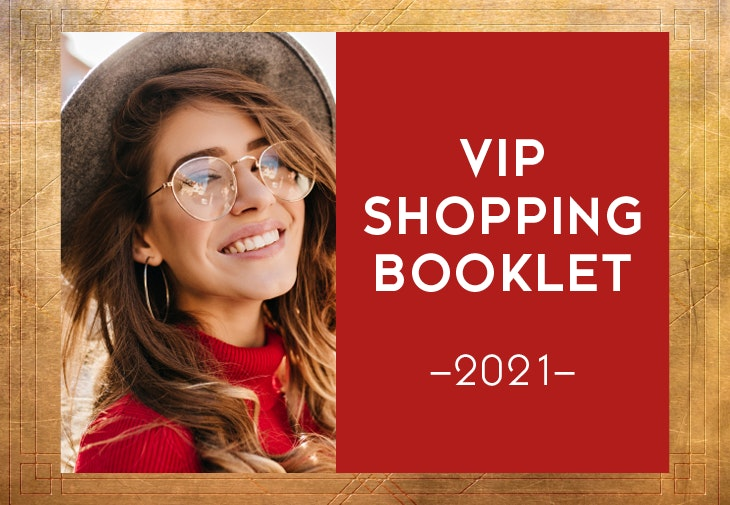 VIP shopping booklet - Voucher ALEXA Berlin