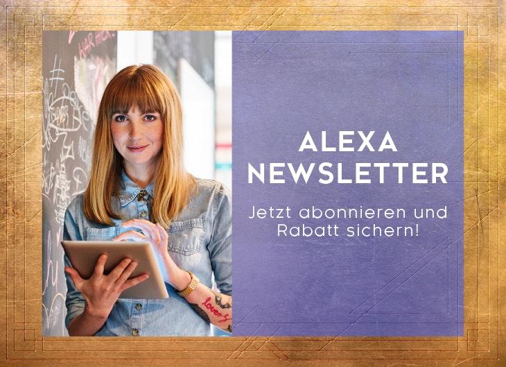 Abonniere unseren Newsletter für Neuigkeiten aus dem ALEXA Berlin
